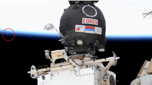 UFOs from ISS camera