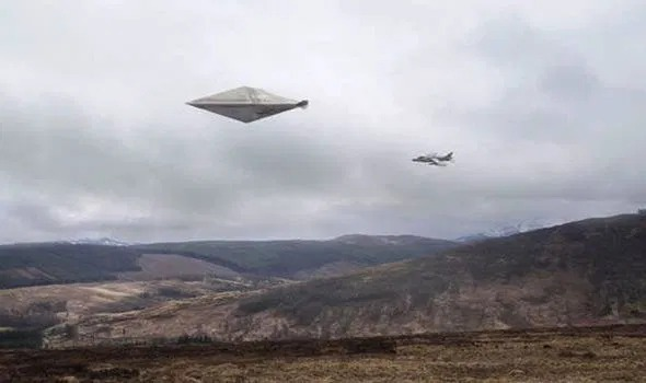 Calvine UFO sighting in 1990
