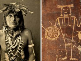 Hopi indians and ant people