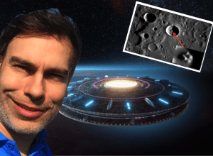 ancient spaceship on mercury