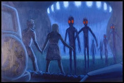Kelly Cahill alien encounter