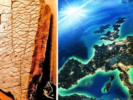 120 million year map