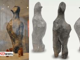 7000-Year-Old Bird-Like Figurine Of Neolithic Era