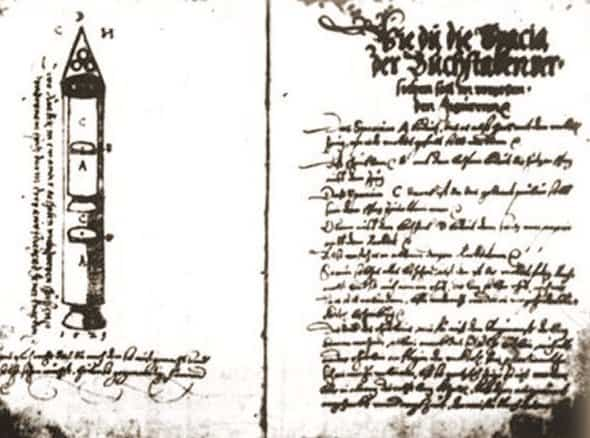 Sibiu Manuscript rocket information