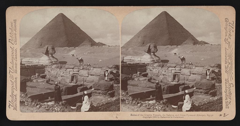 granite temple sphinx