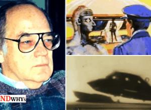 Holloman base UFO landing Footage