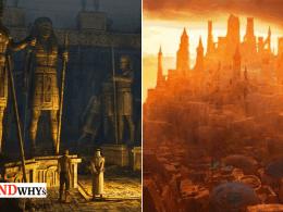 Zerzura Lost Ancient City In Sahara Desert