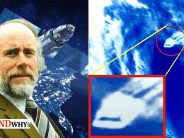 Bruce Maccabee satellite UFO photo