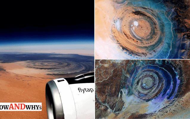Eye Of The Sahara Richat Structure -min