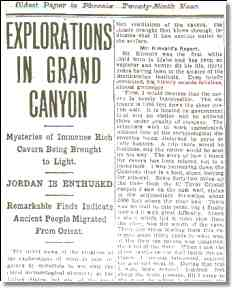 Exploration in Grand Canyon